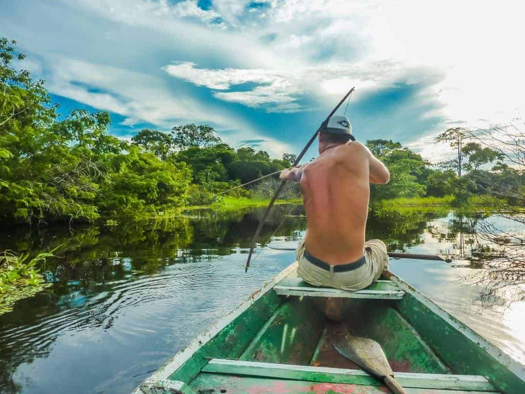 Brazil - Amazon Bow Hunting.